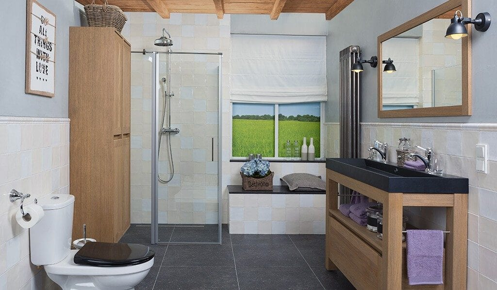 Badkamers En Keukens : Fotos landelijke badkamers voortman badkamers keukens & tegels