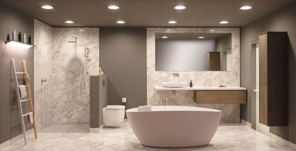 Landelijk Badkamer Tegels : Foto s landelijke badkamers voortman badkamers keukens tegels