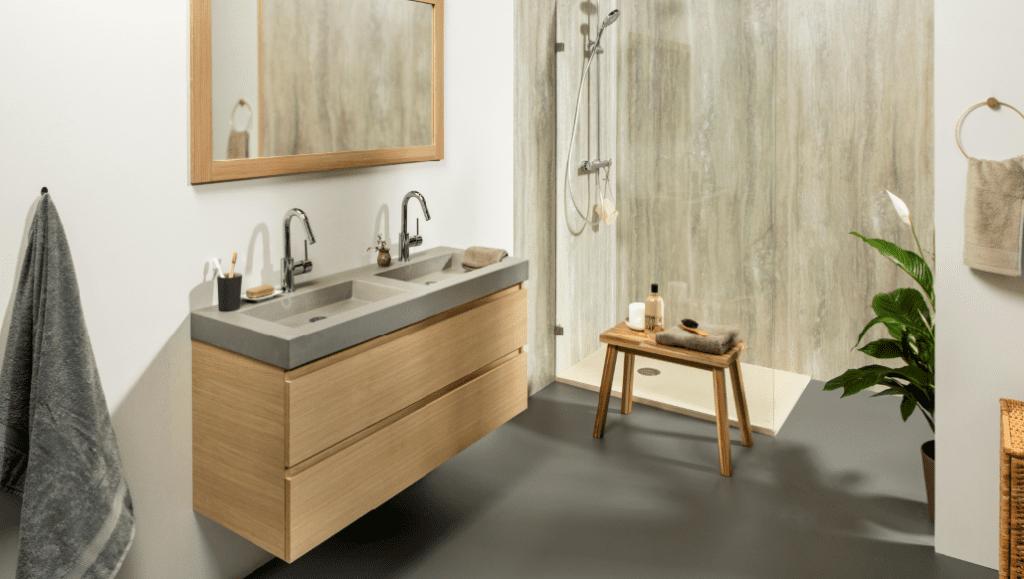 Badkamer Landelijk Modern : Foto s landelijke badkamers voortman badkamers keukens tegels